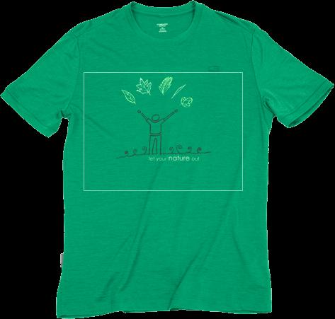 Réalisation pour concours de création de motif pour t-shirt Icebreaker - Fábio de Sá design et graphisme