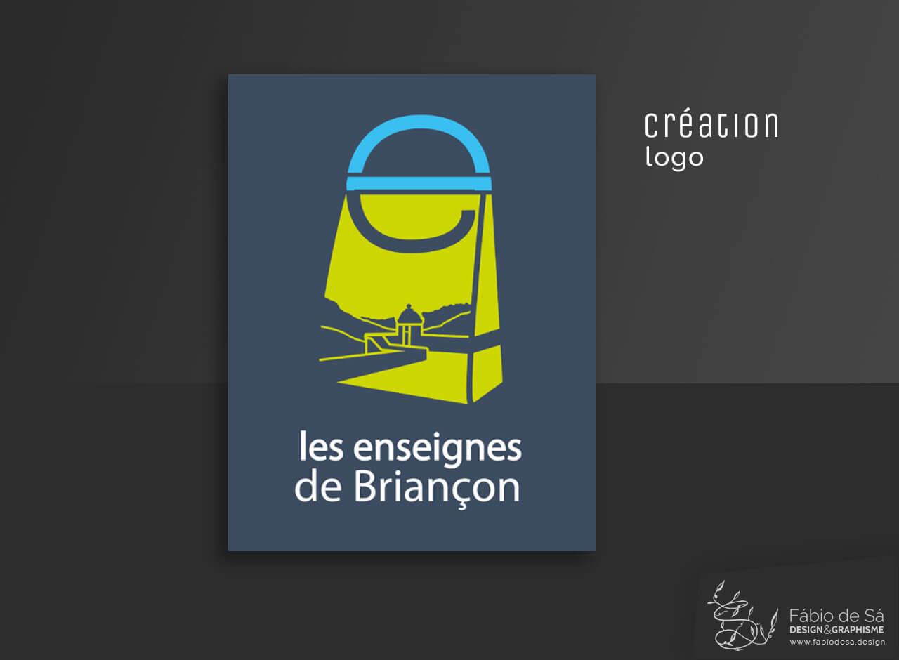 Logo – Les Enseignes de Briançon – Fábio de Sá – design et ...