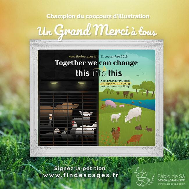 Concours illustration CIWF France